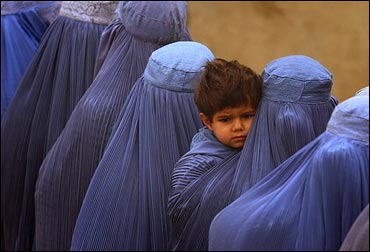Afghan Women Vote