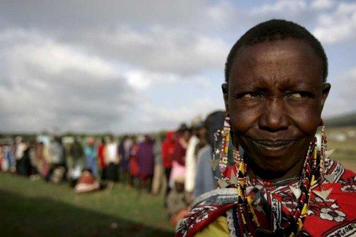 Voting day in Kenya